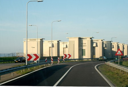 watermanagement: The Afsluitdijk (English: Enclosure Dam) is a major causeway in the Netherlands, constructed between 1927 and 1933