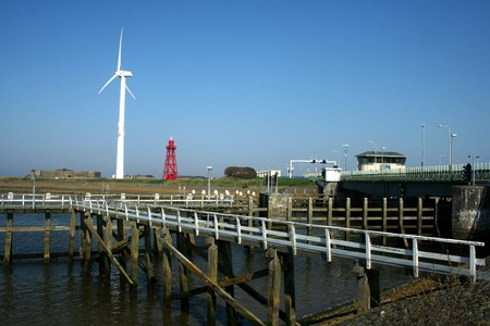 dikes: The Afsluitdijk (English: Enclosure Dam) is a major causeway in the Netherlands, constructed between 1927 and 1933