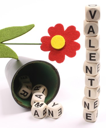 predictable: Valentine as a predictable dice game
