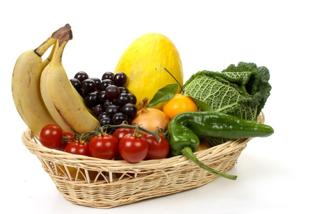 Composition of several fruits and vegetables Stock Photo - 8374443