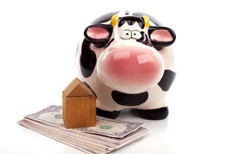 Piggy bank 写真素材