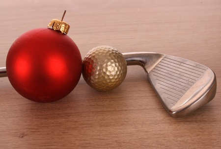 スタジオの設定でゴルフ ・ ボール 写真素材