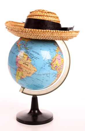 Hat over the Globe photo
