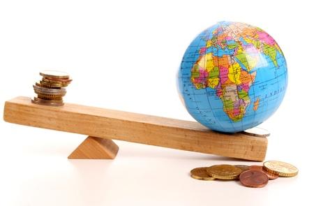 De economische crisis is een wereldwijd probleem