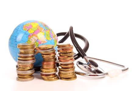 Health investigation of the Euro to cure the economic crises is a world wide problem photo