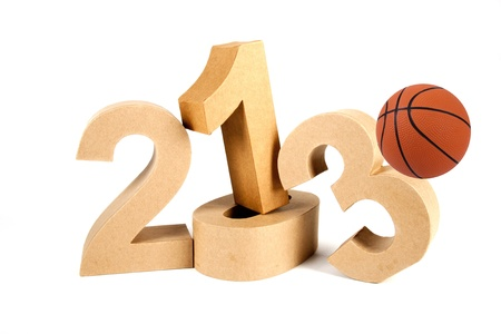 2013 in numbers and a volley ball photo