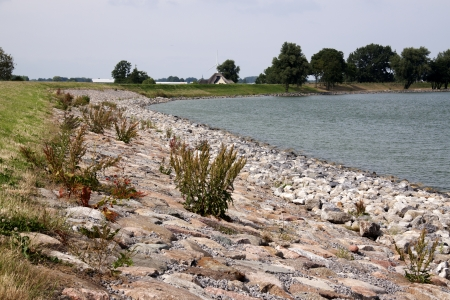 markermeer: the dike is continuously maintained