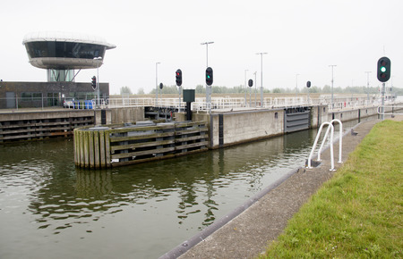 watercourse: A naviduct is a custom type of aqueduct, where a sluice in the watercourse.