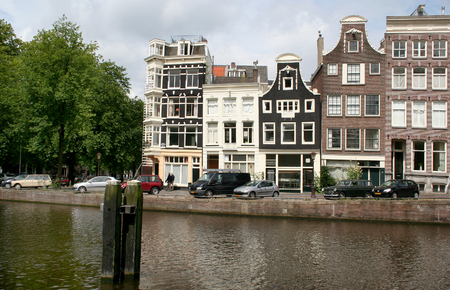 streetlife: Netherlands, Amsterdam, June-2016: The New Herengracht is an Amsterdam canal
