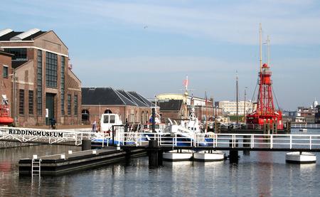 Den Helder, juli 2016: Willemsoord is een grote voormalige scheepswerf van de Koninklijke Marine