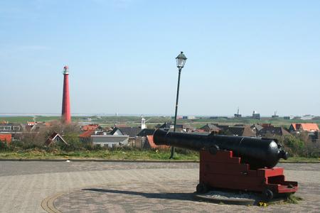 noord: The fortress Kijkduin was built by Napoleon in huisduinen. Editorial