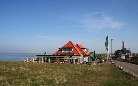 noord: Beachrestaurant near the wadden sea