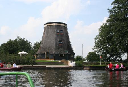 Overijssel, Giethoorn, august 2016: Windmil van Prinsen