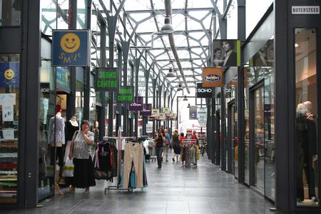 Netherlands, Gorinchem, Gorkum, June 2016: shopping centre