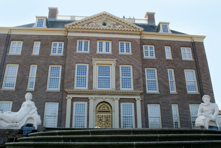 Netherlands, The Loo,-june 2016: Exterior of the former royal palace