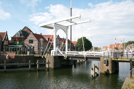 Netherlands, Enkhuizen june 2016: town with a rich historic past and a nowadays touristic present Editorial