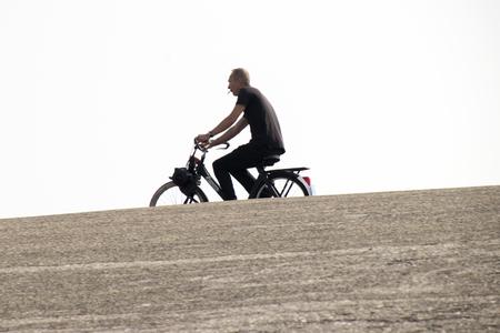 Nederland, Zeeland, Brouwersdam, - 2017: vrijetijdsbesteding, sport en vakantieplezier op de Brouwersdam, de zevende structuur van de Deltawerken van Nederland