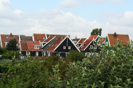 Netherlands,North Holland,Marken, june2016: typical neighbourhood of Marken