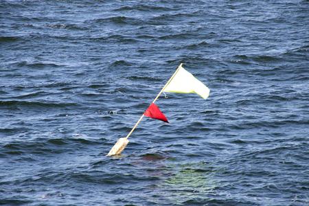 Netherlands,North Holland,Marken:waves in Markermeer