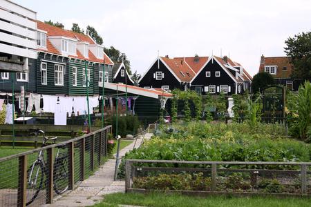 Netherlands,North Holland,Marken, june2016: Typical picture in Marken