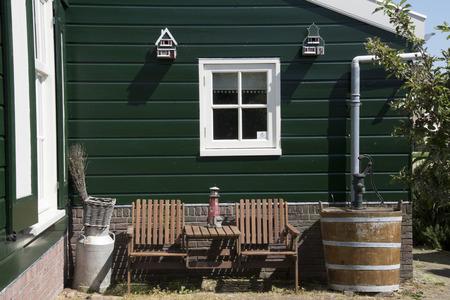 Netherlands,North Holland,Marken, june2016:Mass tourism in the village of Marken