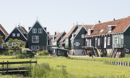 Netherlands,North Holland,Marken, june2016: rural surrounding of the island Marken