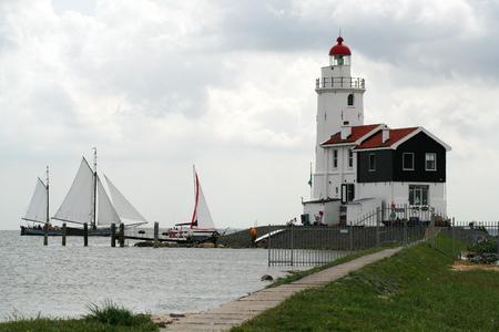 Netherlands,North Holland,Marken: Lighthouse