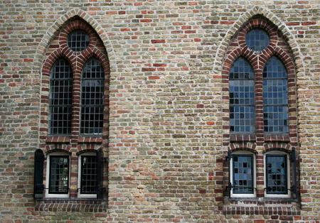 Netherlands,North Holland,Medemblik, june2016: Radboud Castle is a castle on the east bank of the harbour in Medemblik. 報道画像