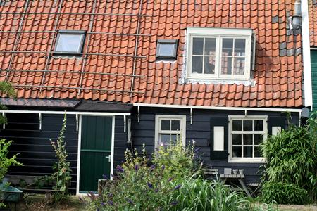Netherlands,North Holland,Marken, june2016: typical neighbourhood of Marken