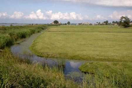 Netherlands,North Holland,Marken, june2016:  Ditch in Marken