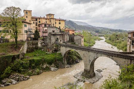 Castelnuovo di Garfagnana in Toscany, italy