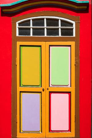 Colorful facade ar