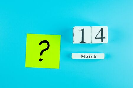 Questions Mark word in paper note on blue background. FAQ( frequently asked questions), Answer, Q&A, Communication and Brainstorming, International Ask a Question day Concepts