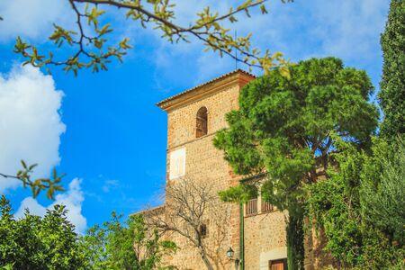 view over Deia town at the west coast of Mallorca, Spain Foto de archivo
