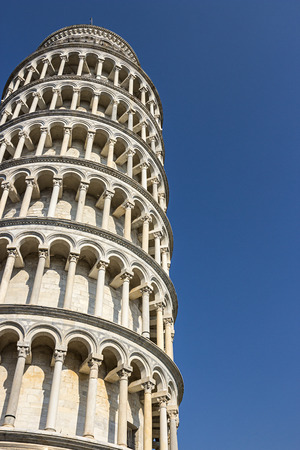 à ? ? ? ?, ? Detail of the Tower of Pisa, Tuscany, Italy