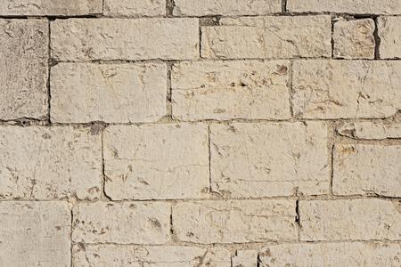 Rosa Steinwand des Mount Subiaso, Assisi, Umbrien, Italien Standard-Bild - 52589221