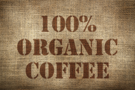 100% Organic Coffee sack Ingl?s version