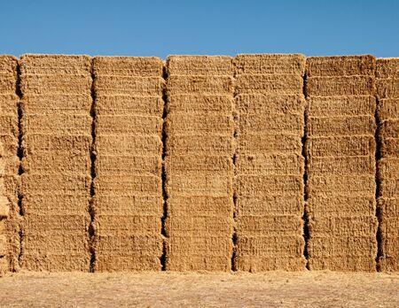 Straw bales at Ribera de Duero fields