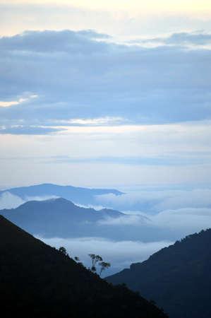 antioquia: Atardecer en las Monta?as de Antioquia Stock Photo