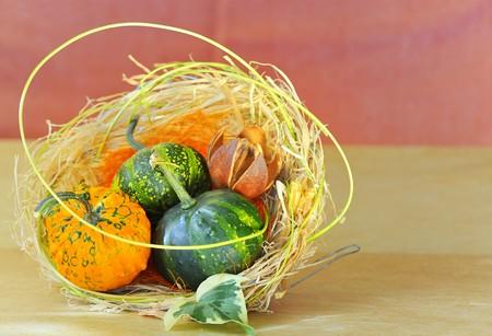 pumpkins decoration Stock Photo - 8784066