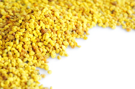 bee pollen: macro stuifmeel Stockfoto