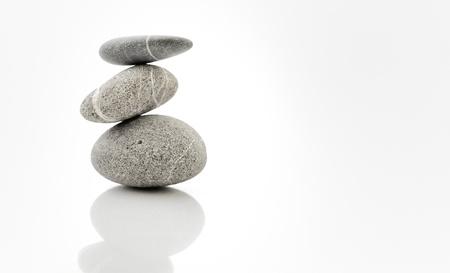 background with round peeble stones Stock Photo - 8784198