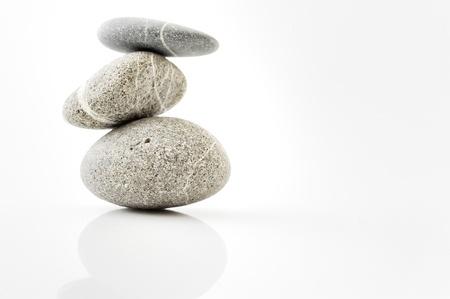 background with round peeble stones Stock Photo - 8784156