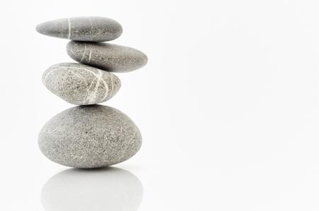 background with round peeble stones Stock Photo - 8784154