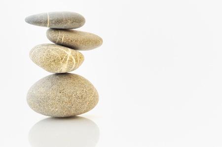 background with round peeble stones Stock Photo - 8784199