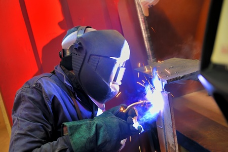 fabrication: welding with mig-mag method