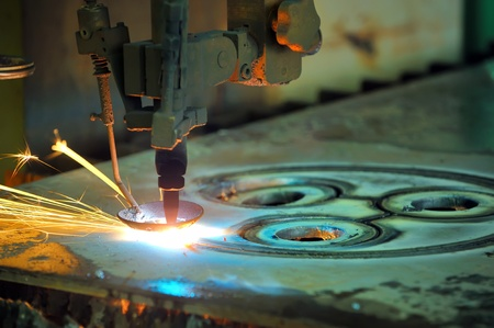 industrial laser  Stock Photo - 11845295