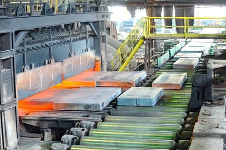 siderurgia: de acero en caliente en el horno