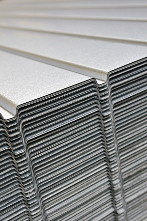 capping: corrugated sheet
