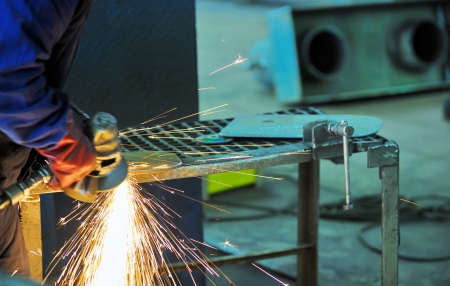 machine for grinding steel Stock Photo - 16476820